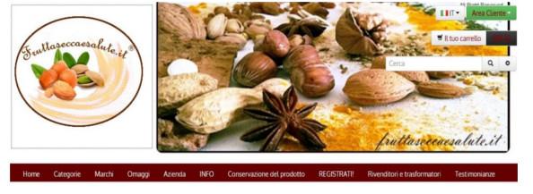 frutta secca on line promozione del mese